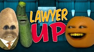 Annoying Orange - Lawyer Up (feat. Stawburry17 & Kevin Brueck)