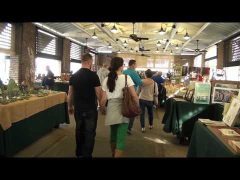 Charleston City Market Walk Through