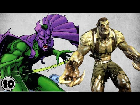 Top 10 Alternate Versions Of The Green Goblin