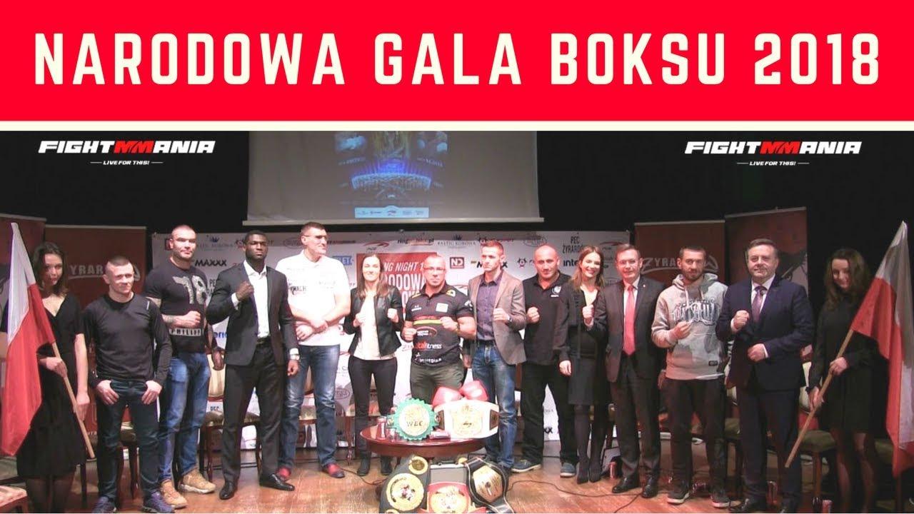 Narodowa Gala Boksu Boxing Night 14 – cała konferencja w Żyrardowie