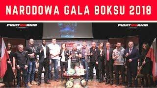 Narodowa Gala Boksu Boxing Night 14 - cała konferencja w Żyrardowie