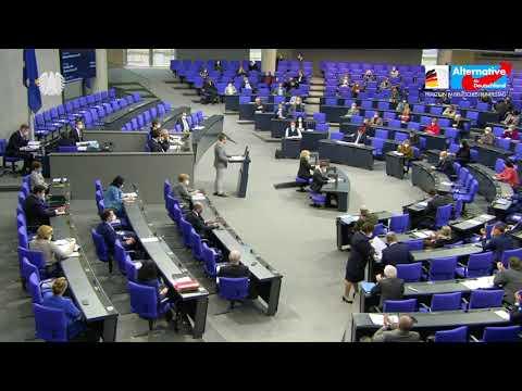 Sebastian Münzenmaier rechnet mit der Corona Politik von Spahn und Merkel ab! AfD Fraktion