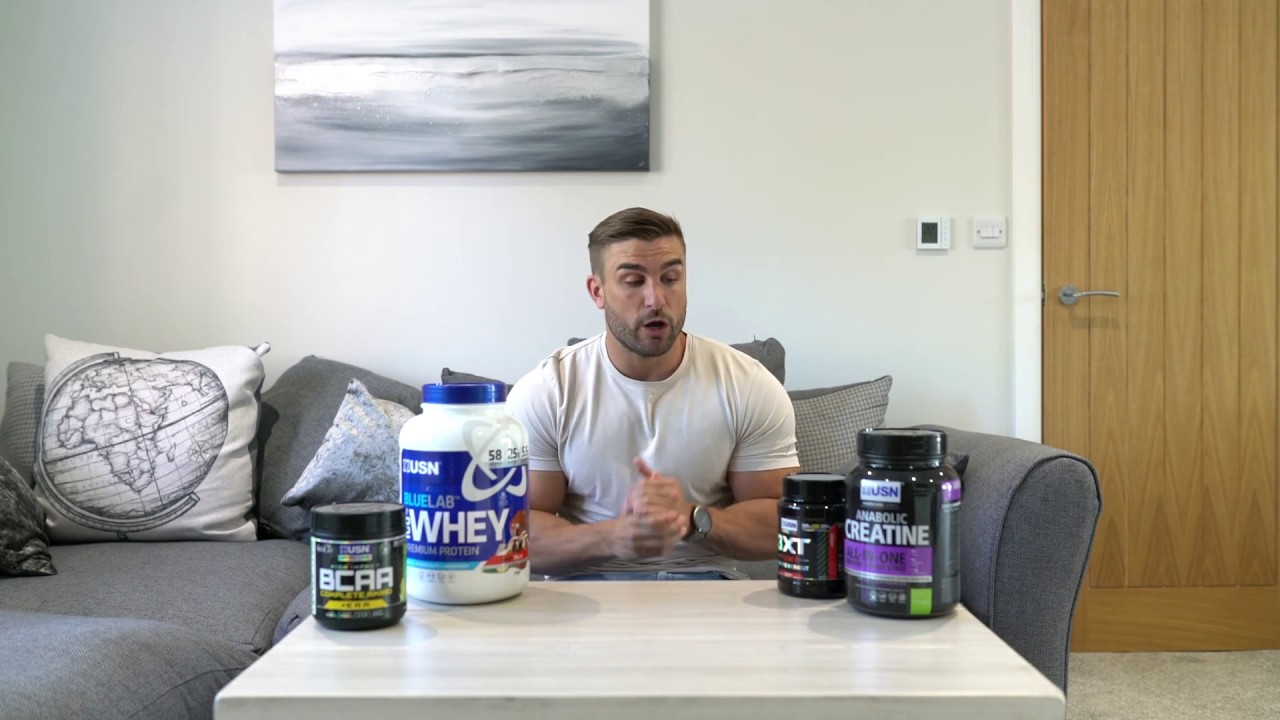 Ryan Terry - USN Supplement Stack