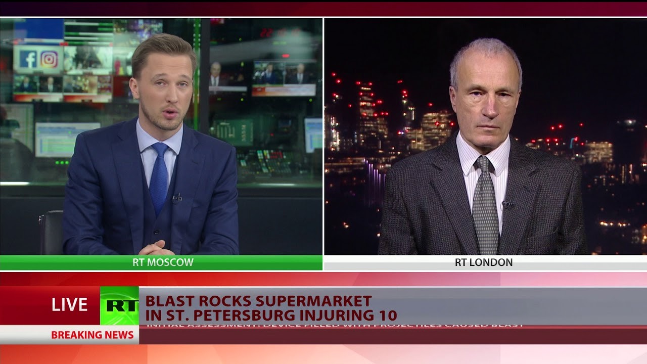 10 injured as possible improvised explosive device causes blast in St. Petersburg store