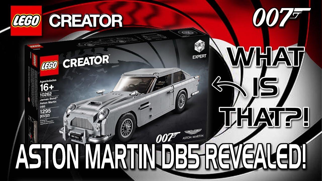 lego james bond aston martin db5 revealed my thoughts. Black Bedroom Furniture Sets. Home Design Ideas
