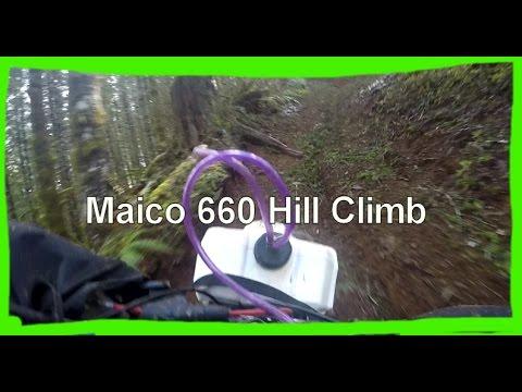 Dirtbike Riding: S2 E17 - Maico 660 Up The Hillclimb!
