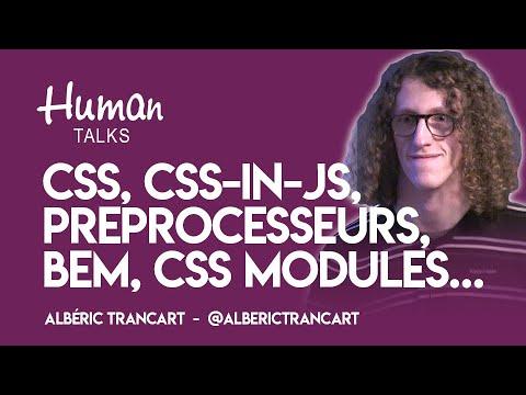 CSS, préprocesseurs, BEM, CSS Modules, CSS-in-JS... comment choisir ? par Albéric