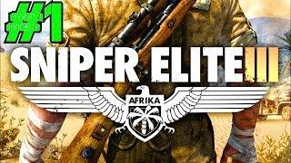 Sniper Elite 3 Co-op Walkthrough Ep.1 | Mission #1: Siege of Tobruk [PC HD]