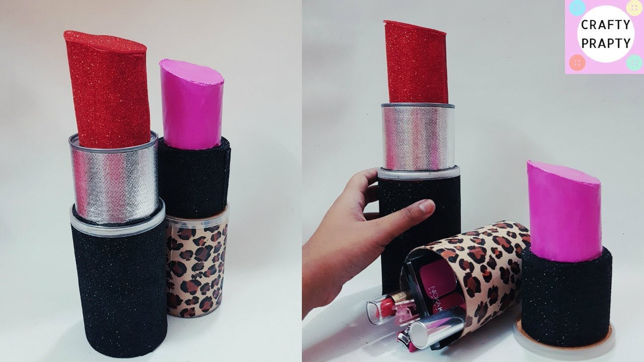 Diy Organizer How To Make Giant Lipstick Diy Lipstick