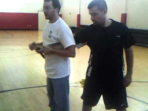 Krav Maga knife attack