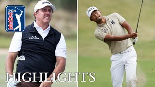 Phil Mickelson vs. Satoshi Kodaira Highlights | Round 2 | Dell Match Play