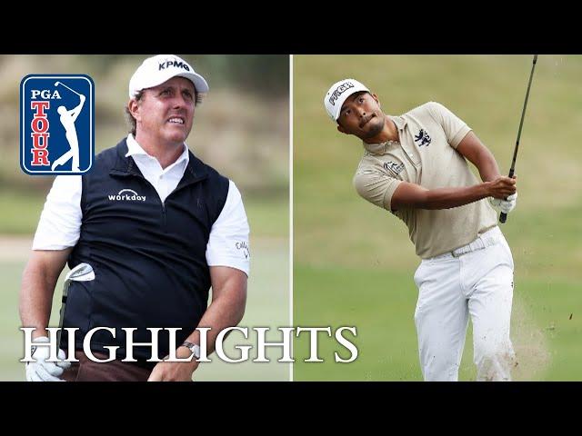Phil Mickelson vs. Satoshi Kodaira Highlights | Round 2 | Dell Match Play