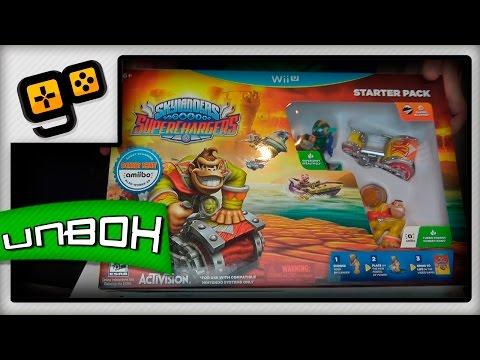 Unbox - Skylanders SuperChargers [Wii U]