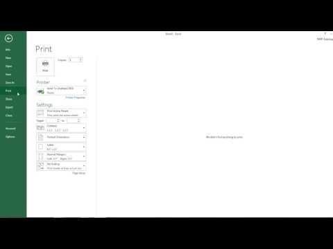 Excel 2013 Tour Part 1