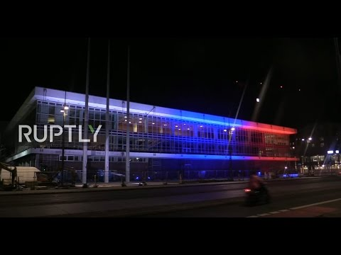 LIVE: Dresden lights up Palace of Culture with Russian flag for St. Petersburg blast victims