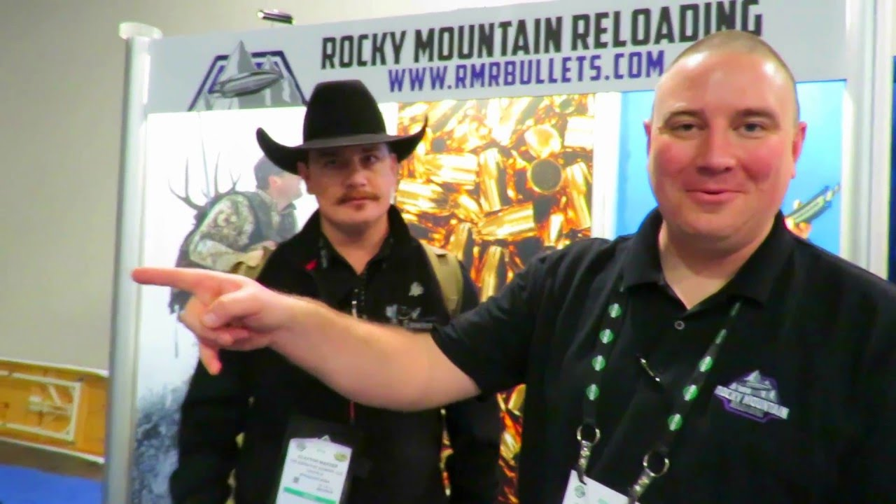 ROCKY MOUNTAIN RELOADING: SHOT Show - YouTube