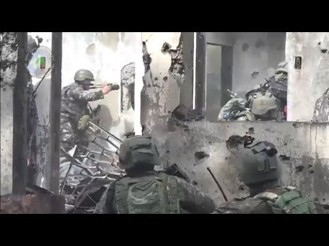 Philippine Army Combat Camera Teams in Action at Marawi City