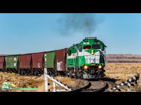 4K: Northern Arizona Trains (HD 60fps)