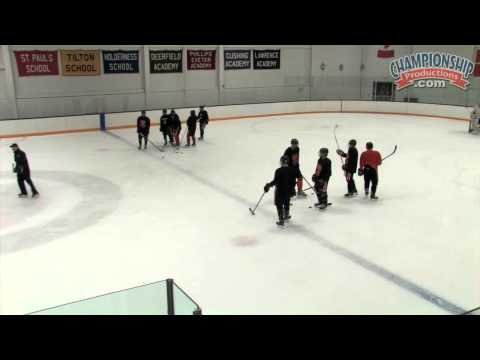 All Access High School Hockey Practice with Tim Whitehead
