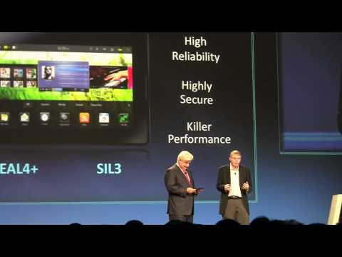 BlackBerry PlayBook Live Announcement!!