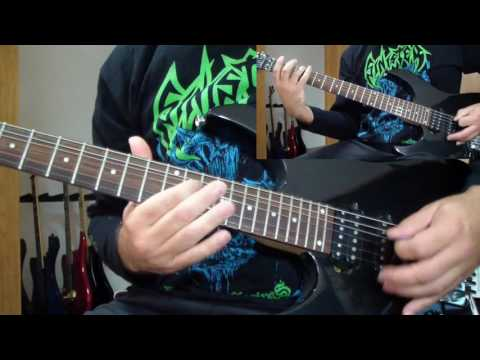 Bolt Thrower - The IVth Crusade (guitar cover) mp3