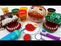 Don't Forget to Brush Your Teeth !! Play-Doh Doctor Drill N Fill Playset