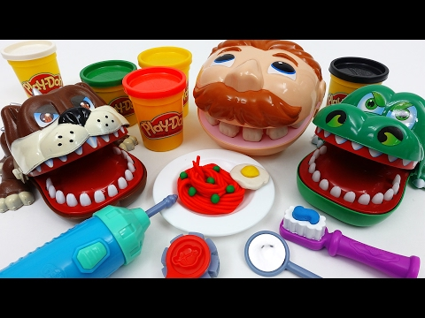 Thumbnail: Don't Forget to Brush Your Teeth !! Play-Doh Doctor Drill N Fill Playset