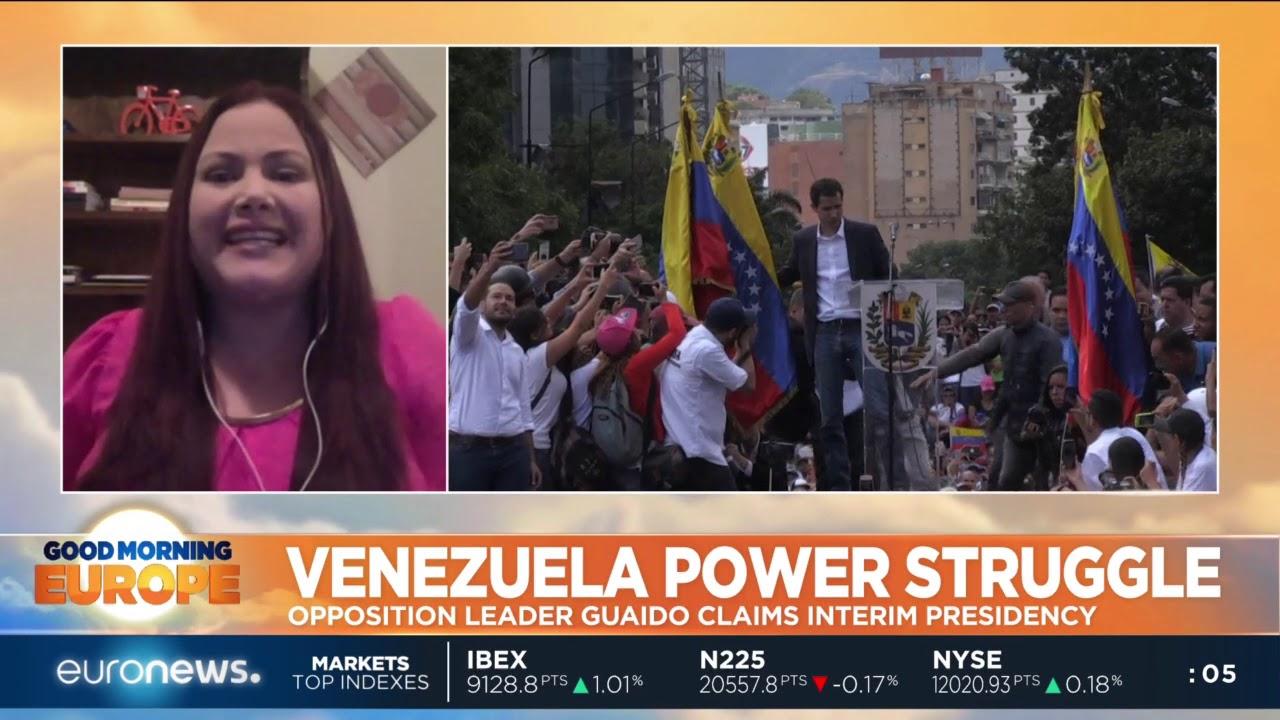 Venezuela Power Struggle: Juan Guaido claims interim presidency | #GME