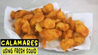 How to make Calamares for business (fresh squid) | Part 1