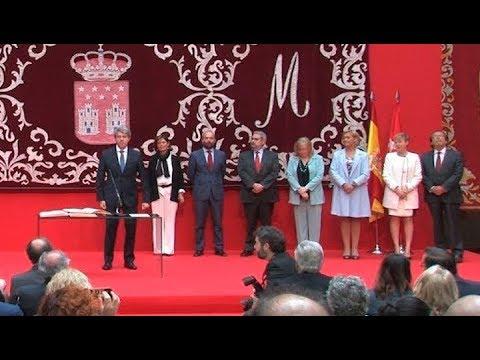 Ángel Garrido ya es presidente de la Comunidad de Madrid