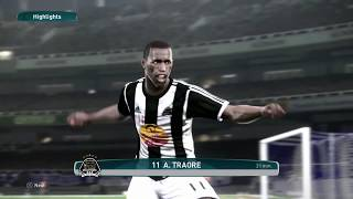 PS4 PES 2017 Gameplay Hilal El Obeid vs TP Mazembe HD 2017 Video