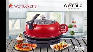 Wonderchef Gas Oven Tandoor Duo Review|Product Overview | Features And Function By Sanjeev Kapoor