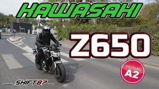 ESSAI MOTO #1 | KAWASAKI Z650 A2 2017 - SHIFT87
