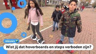 'Veel ouders kennen regels over hoverboards en steps niet'