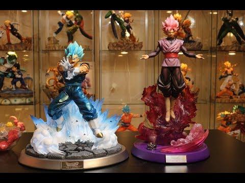 Dragon Ball Super, FC Super Saiyan Blue Vegito Resin Statue Unboxing.