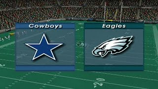 Madden 2003 (PS2) - Cowboys vs Eagles | #Oldschool