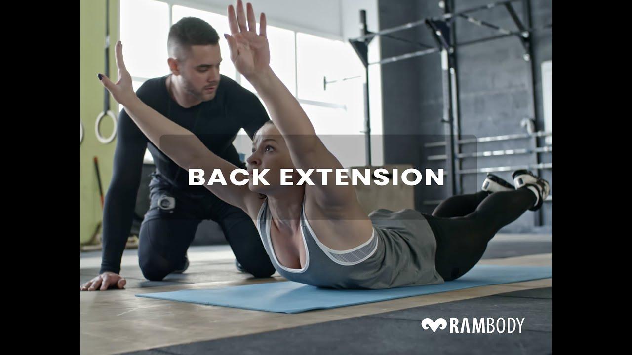 تدريب الامتداد الخلفی ( Back Extention)