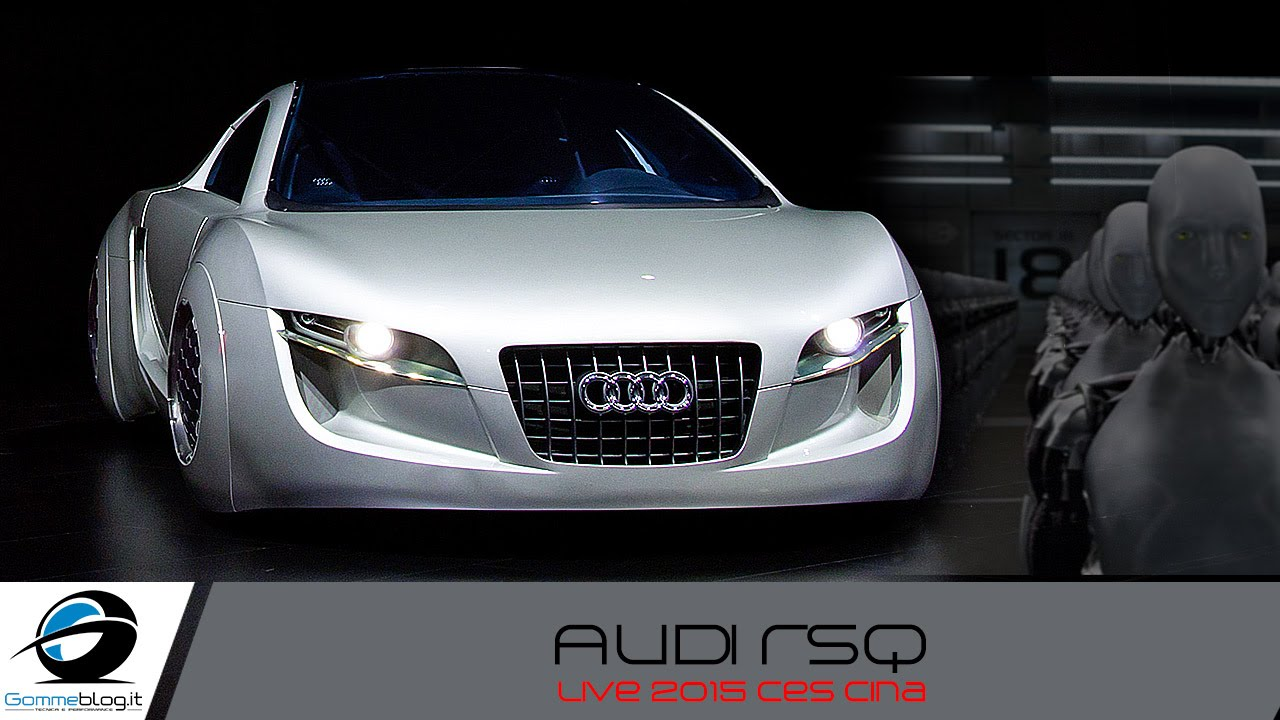 "Audi RSQ | Sporty Coupé for the 2004 ""I, Robot"" 