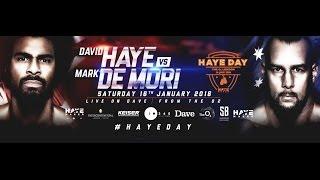 Live Boxing: David Haye vs Mark de Mori