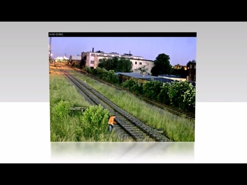 AXIS Q1602-E Network Camera - Field tests with Deutsche Bahn, Germany