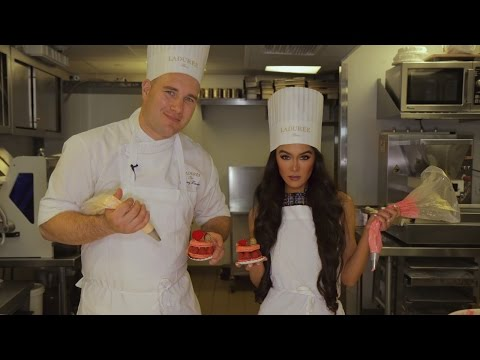 Ladurée Pastry Class | Learn to Make the Best Selling Ispahan from Exec Chef Jimmy Leclerc