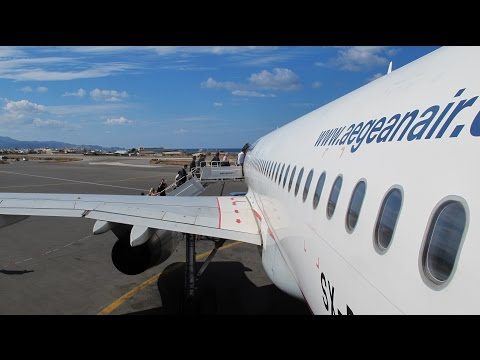 Flight Heraklion - Roissy CDG  A320 Aegean Airlines