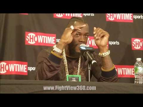 PISSED DEONTAY WILDER TALKS ORTIZ PED'S, STIVERNE REMATCH, JOSHUA, & MORE!