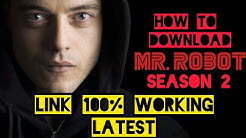 #GAMETERTAIN Mr. Robot season 2: How to download dual audio(Hin-Eng) 720p 100% WORKING #LATEST