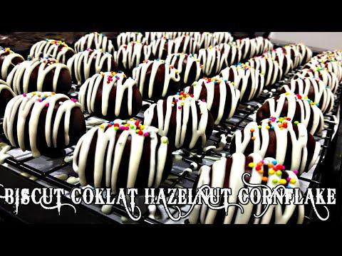 biskut-coklat-hazelnut-cornflakes-biscuit-mudah-dan-sedap.