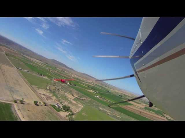 Mack Mesa Fly-By