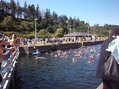 """Swim The Canal (St. Peter's) 2015: """"The Island"""""""