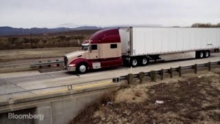 Future of Trucking: Big Rigs Become Robot Convoys