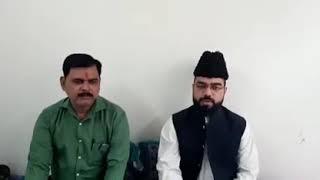 Hussaini Brahman in Bisauli, Badaun (U.P.)  with Allama Shabbir Warsi Resimi