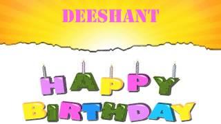 Deeshant   Wishes & Mensajes - Happy Birthday